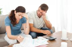 A person's liklihood of paying bills is calculated in a FICA score.