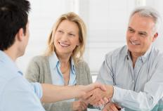 Most individuals work with a financial planner to establish an annuity.