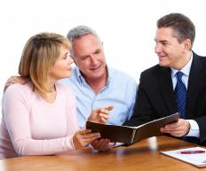 Financial planners learn their clients financial situation and goals.