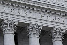 Hearings are held in court houses.