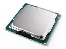 A CPU may be protected within a metallic case.