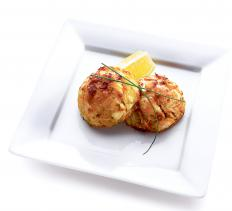 Panko can be used to give crab cakes a light crispy coating.