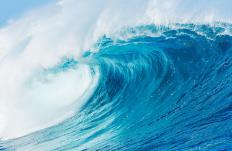 Blue power is energy that is harnessed from the natural movements of the oceans.