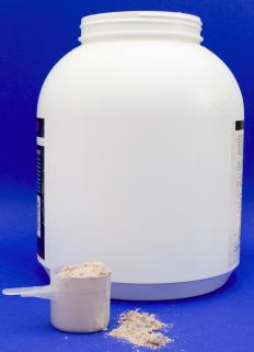 Creatine powder is commonly used to build muscle and reflex.
