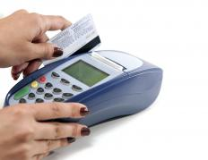The rate at which a credit card borrower defaults on her payments is the default rate.