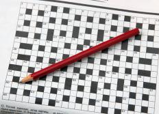 Looking up the answers to a crossword puzzle can allow the player an opportunity to learn.