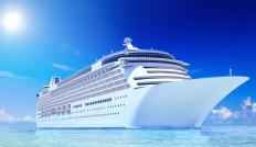 Large, luxury cruise ships provide many social activities.
