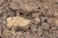 Clay loam is soil that is heavily mixed with clay.