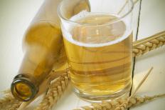 Beer usually contains gluten and can ignite allergy symptoms.