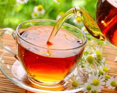 Drinking chamomile tea has been found to reduce anxiety.