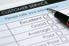 Surveys can be part of a customer satisfaction system.