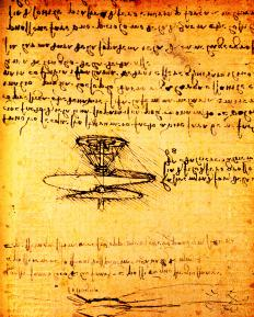 The first attempts to engineer a true VTOL aircraft were made during the Renaissance by artist Leonardo Da Vinci.