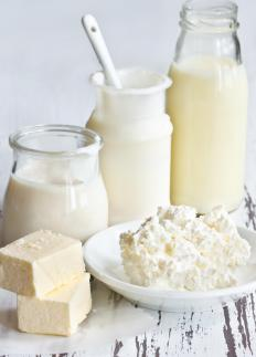Dairy foods contain calcium which can decrease doxycycline's effectiveness.