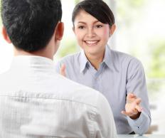 An aspiring customer service coordinator should be able to hold a clear conversation.