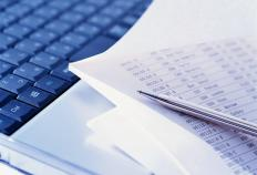 A data entry clerk must be able to accurately enter correct data.