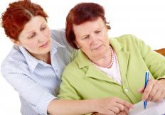 Validation therapy is a method used for managing family members who have Alzheimer's disease.