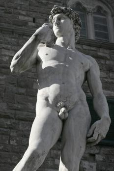 A replica of Michelangelo's David would fit into any Renaissance decor.