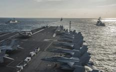 Aircraft carriers cost about $4.5 billion each.