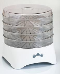 A food dehydrator can be used to dry fruit.