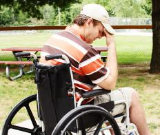 Cases of severe muscle wasting might leave a person needing a wheelchair to get around.
