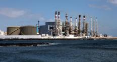 Desalination plants are typically located near the coast.