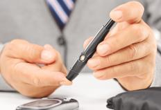 Hypotension may be indicative of diabetes.