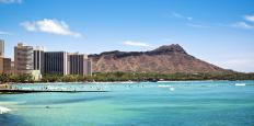Like many of Hawaii's distinctive features, Diamond Head is volcanic in origin.
