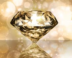 Fancy diamonds such as yellow diamonds are usually produced in a lab as naturally colored diamonds are extremely rare.