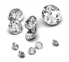 "Literal diamonds, the origin of the expression ""diamond in the rough.""."
