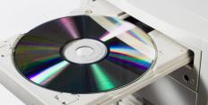 Software copyright may prevent a CD from being burned.