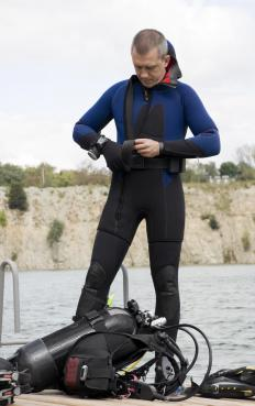 Commercial divers must be scuba equipment experts.