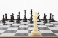 Backward induction is often employed by chess players.