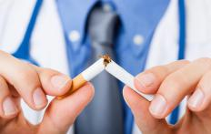 Smoking cessation will reduce the risk of squamous cell carcinoma.