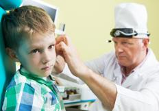 Ear infections can cause both temporary and permanent hearing loss.