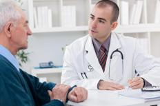 Primary care physicians see patients first and refer them to specialists for certain problems.