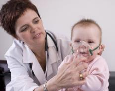 Untreated measles in babies may lead to pneumonia.