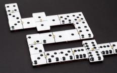 Dominoes may be considered a public domain game.