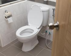 Toilet and other home plumbing waste may be disposed of into a septic system.
