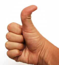 In some cultures, the thumbs up is a rude gesture.