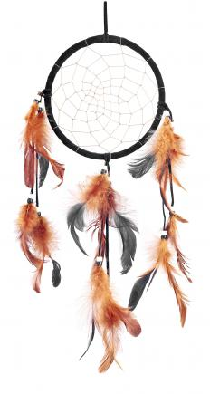 Dakota Indians believed that dream catchers caught good dreams and incorporated them into life.