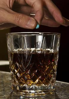 Date rape can occur after someone puts an illegal drug into another's drink.