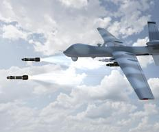 Unmanned aerial vehicles can be particularly useful for missile strikes.