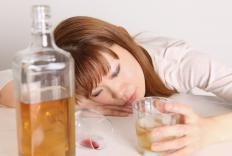 Consuming large quantities of the toxins in alcohol can lead to alcohol poisoning.