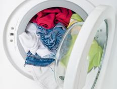 Some velours can be dried in a clothes dryer on low.
