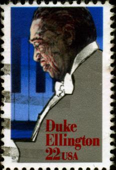 Duke Ellington was featured in Ella Fitzgerald's songbooks.