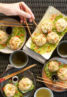 A special dim sum steamer can be used to make Asian-style steamed dumplings.