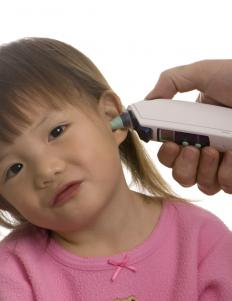 A digital ear thermometer might be easier for a child to accept.