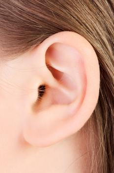 Ear discharge is known as otorrhea.