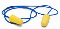 Earplugs may help with noise sensitivity.
