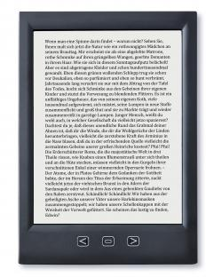 Digital books, magazines, and newspapers may be read using an e-reader.